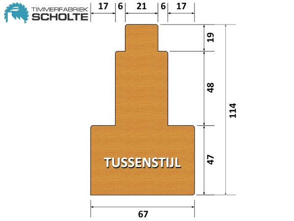 Timmerfabriek Scholte Kozijnen Detail Tussenstijl
