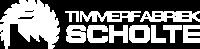 Timmerfabriek Scholte - Logo - Transparant - Wit - Wit